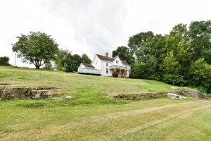 historic farm house in Danville, Ky